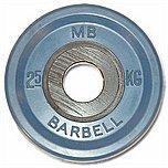 Диск обрезин.(синий) Barbell d 51мм 2,5кг